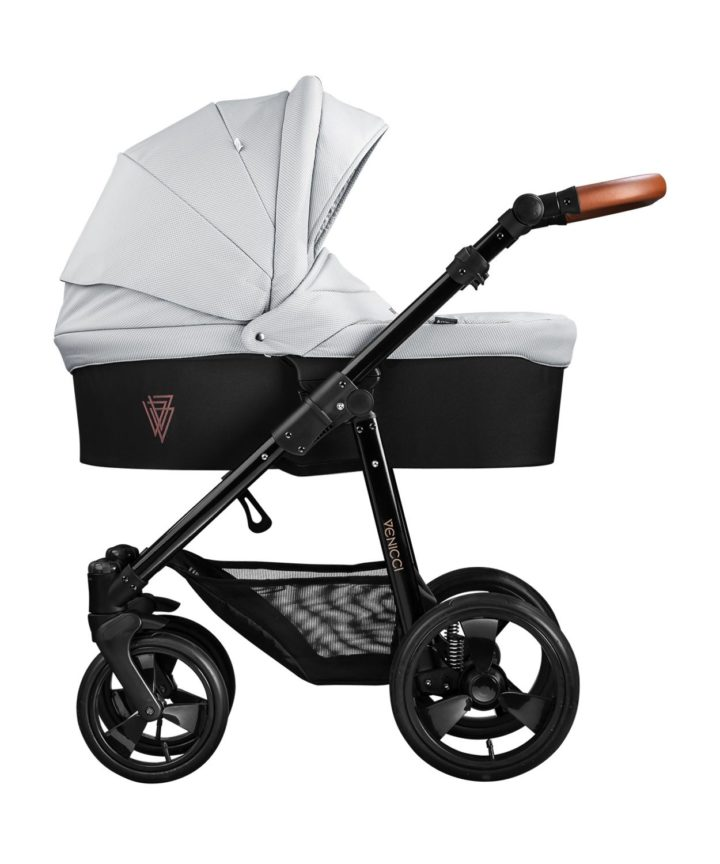 Venicci Gusto Grey Carry Cot