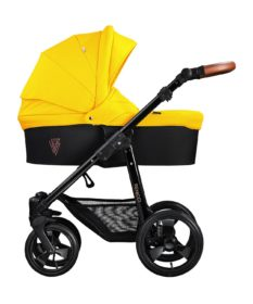 Venicci Gusto Yellow Carry Cot