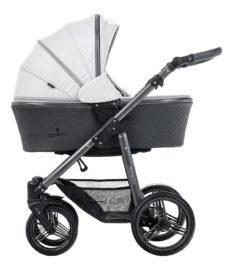 Venicci Carbo Light Grey (LUX) Carry Cot