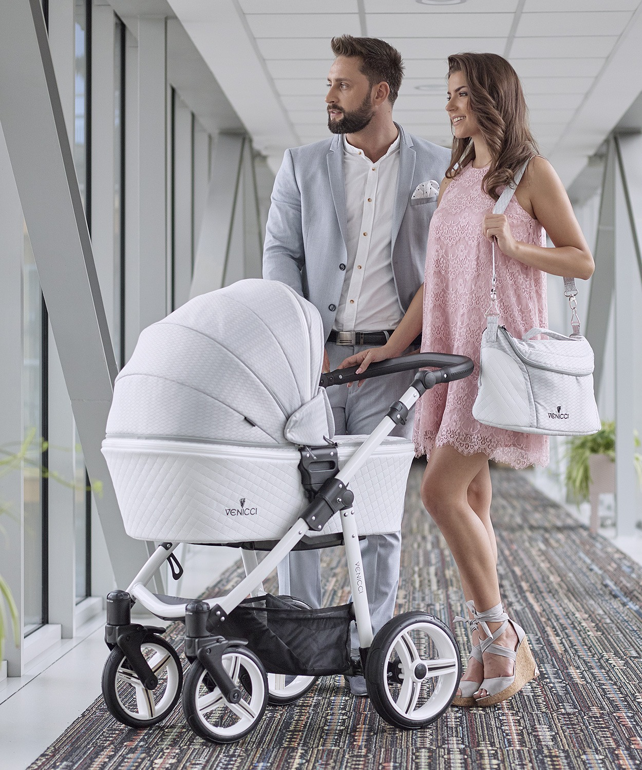 vennici-stroller-pure-stone-grey-session