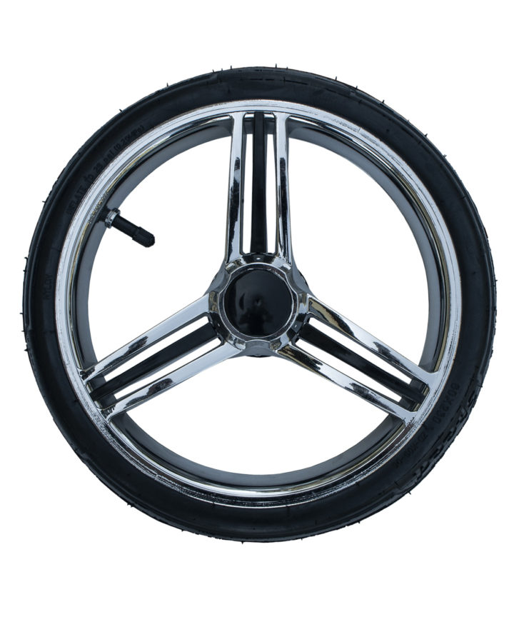 Vennici Wheel - Rear Silver (inner tube)