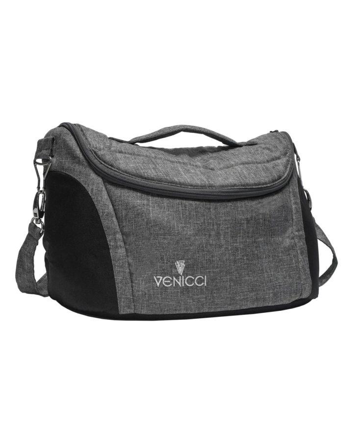 Venicci Bag - Carbo/Silver Denim Grey