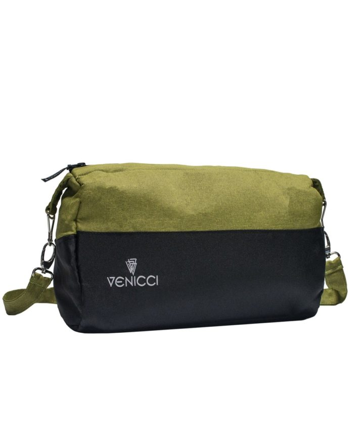 Venicci Bag - Soft Denim Green