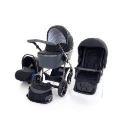 Venicci Carbo Black (LUX) 3in1 Travel System