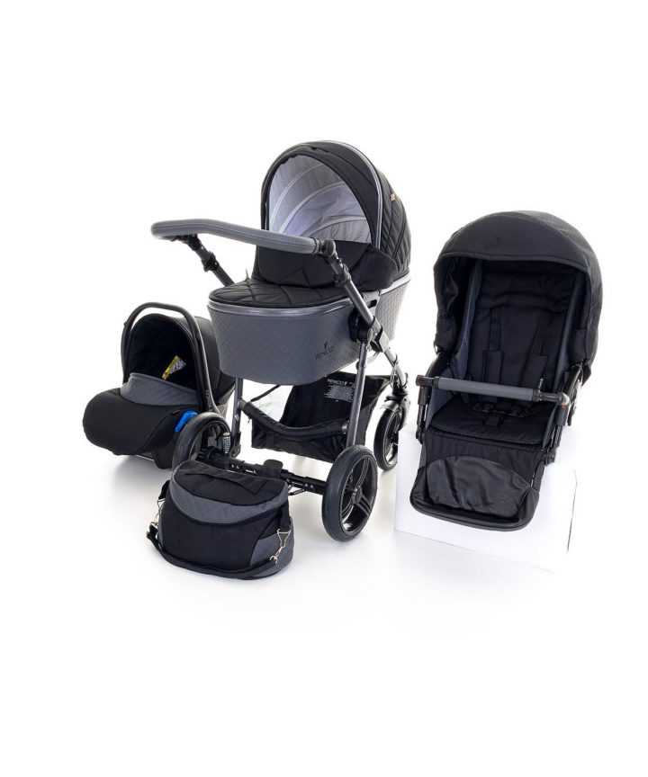Venicci Carbo Black (LUX) 3in1 Travel System