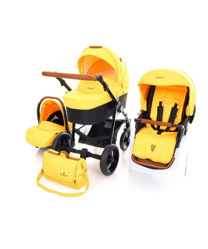 Venicci Gusto Yellow 3in1 Travel System