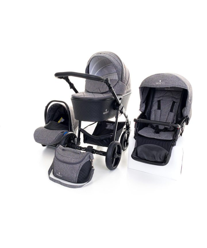 Venicci Shadow Denim Grey 3in1 Travel System