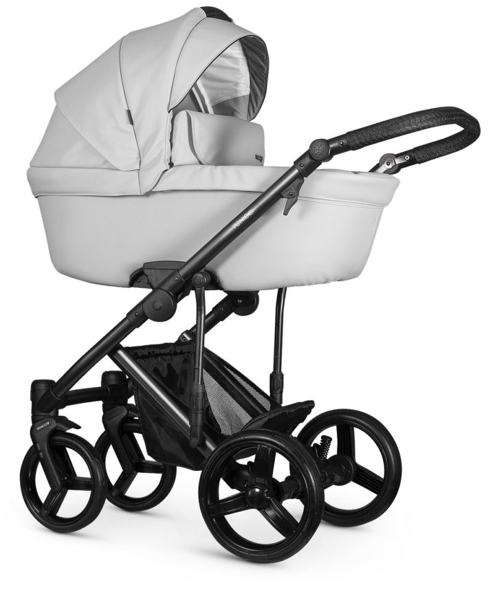 Venicci Asti Light Grey Carry Cot