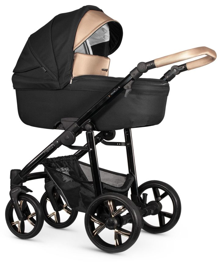 Venicci Lanco Black Carry Cot