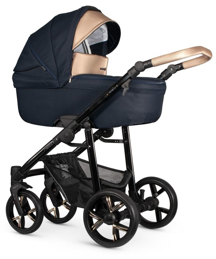 Venicci Lanco Navy Blue Carry Cot