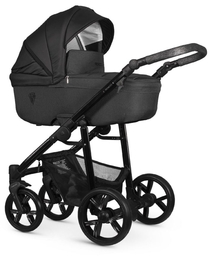 Venicci Valdi Black Carry Cot