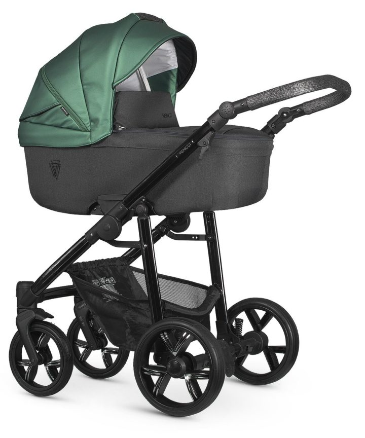 Venicci Valdi Green Carry Cot