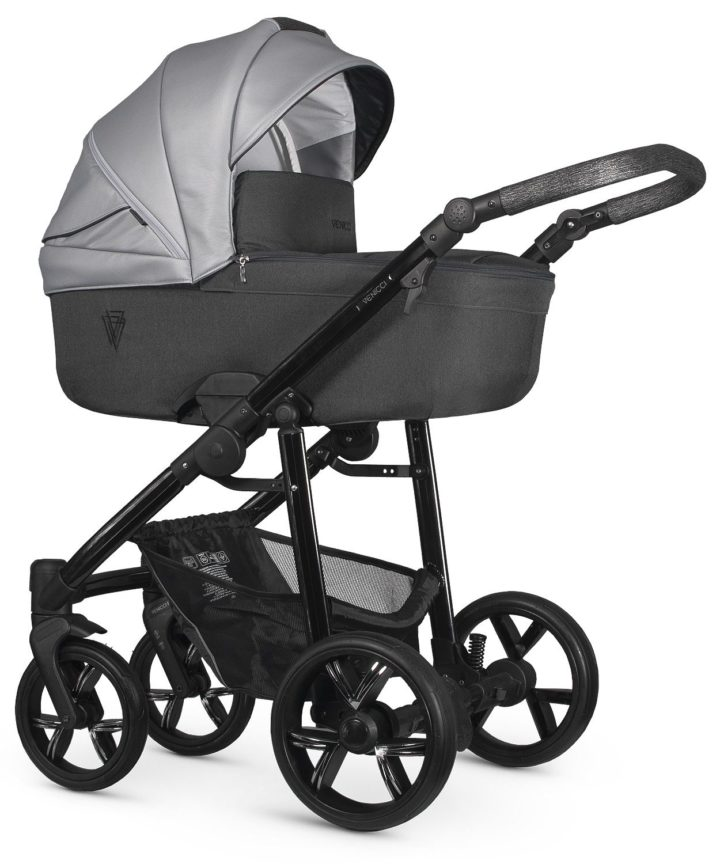 Venicci Valdi Grey Carry Cot