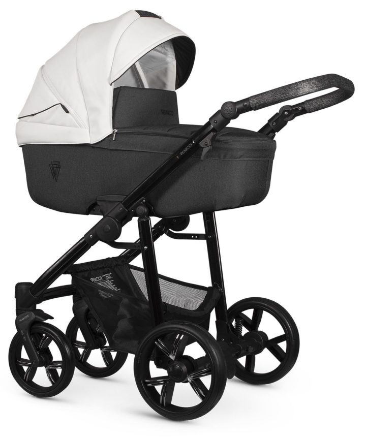 Venicci Valdi White Carry Cot