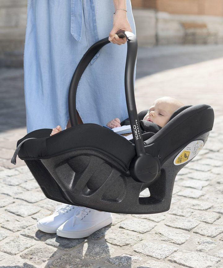 Venicci Ultralite Carseat Black Session #1