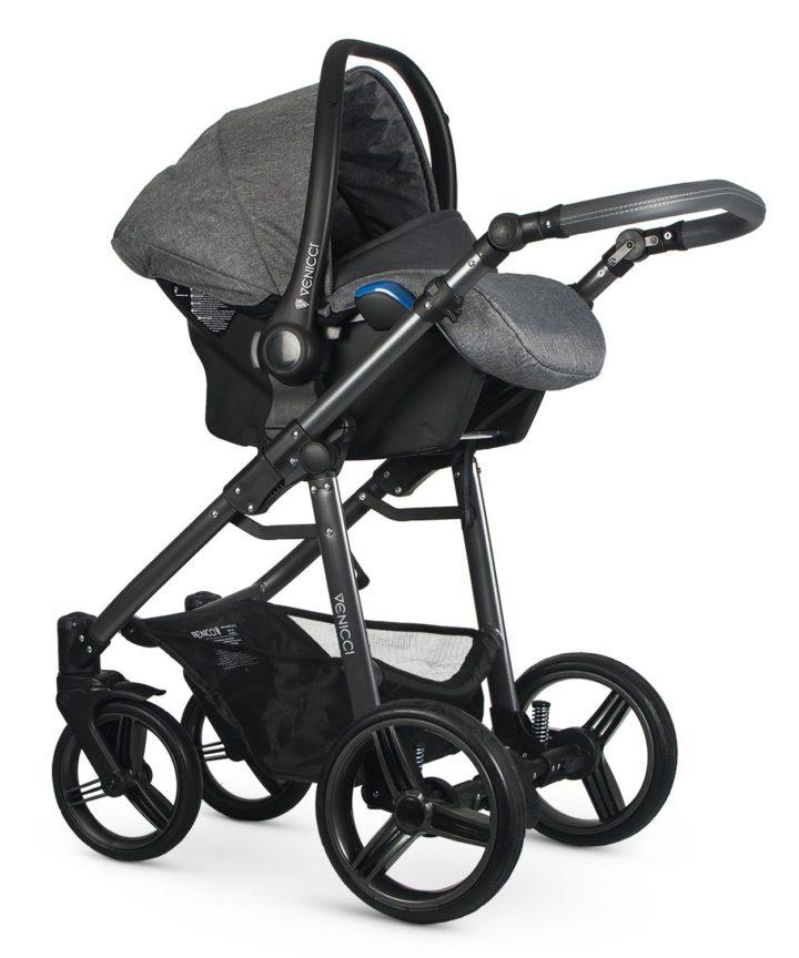Venicci Carbo Denim Grey (LUX) Car Seat